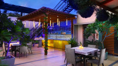 Restaurants At The Ashtan Sarovar Portico, Hotels in South Delhi, Business Hotel In Green Park