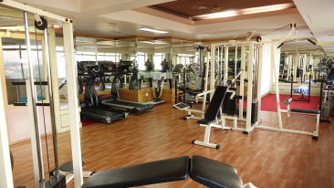 Fitness Centre at our hotel in Cochin, Abad Atrium, Cochin-6