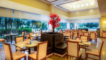 Dining at Radha Hometel Bangalore, hotels in bangalore 2