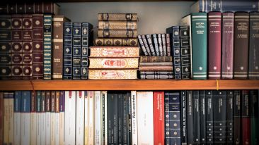 Library at Reni Pani  Jungle Lodge Near Satpura National Park