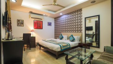 Rooms at The Hermitage Hotel (By Cosy Hotels), New Delhi 1