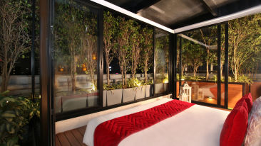 Romantic stay at Theory9 Premium Service Apartments Bandra, best staycation in mumbai 1