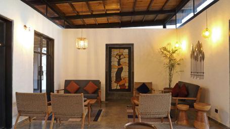 Lounge,  Bori Safari Lodge, Betul, Resort near Bori Wildlife Sanctuary