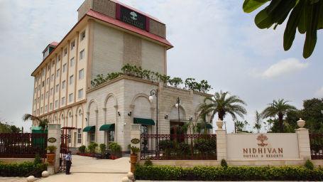 Hotel Nidhivan Sarovar Portico, Mathura Mathura Facade -Hotel-Sarovar-Portico -Mathura- 1