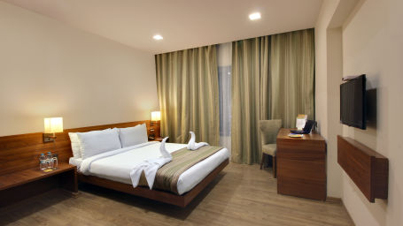shirdi rooms, shirdi accommodation, hotel temple tree shirdi, hotels in shirdi   TJUKJunior Suite