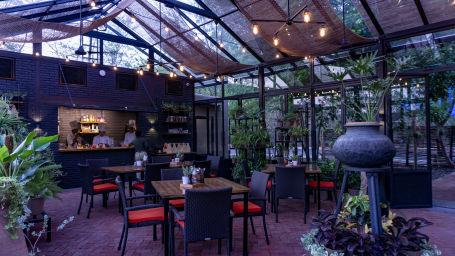 Green House Bistro, Cafe near Van Vihar Bhopal, at Jehan Numa Retreat1