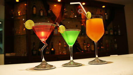 enjoy your drinks with ice and spice restaurant and bar