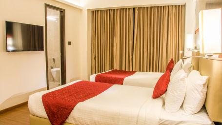 comfort room at V Hotel - Srinagar Vishakhapatnam 3