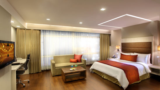 Premiere Suite at Mahagun Sarovar Portico Vaishali, rooms in ghaziabad 2