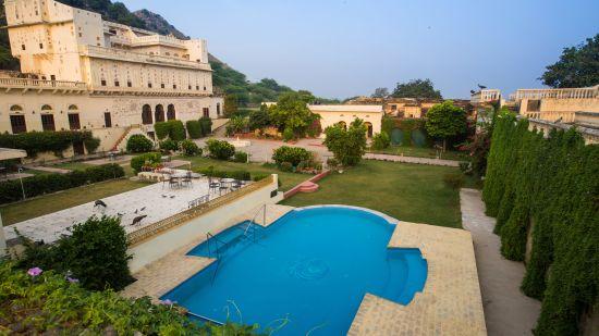 Facade of Bara Bungalow Kalwar, Jaipur 3, Jaipur Villa, Best Villa in Jaipur