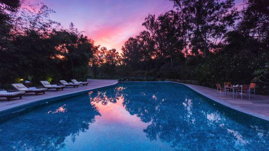 Swimming Pool at Jehan Numa Retreat-Luxury Resort in Bhopal