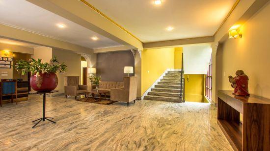 reception at Mount Himalayan Hotel and spa 1