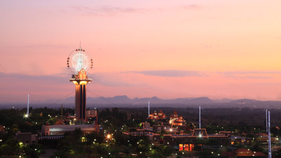 External view of Wonderla Amusement Park Bengaluru