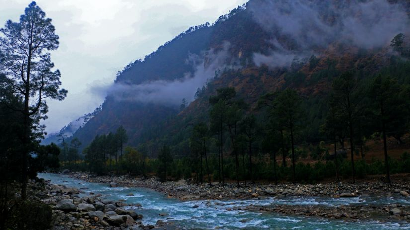 campsites in mussoorie include sites by the river