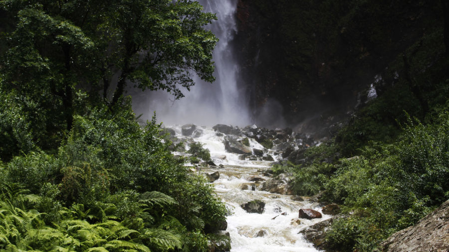 Let s Camp Tirthan Waterfall