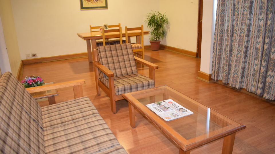 Separate Living Room area at our Suites in Cochin, Abad Fort Kochi-13