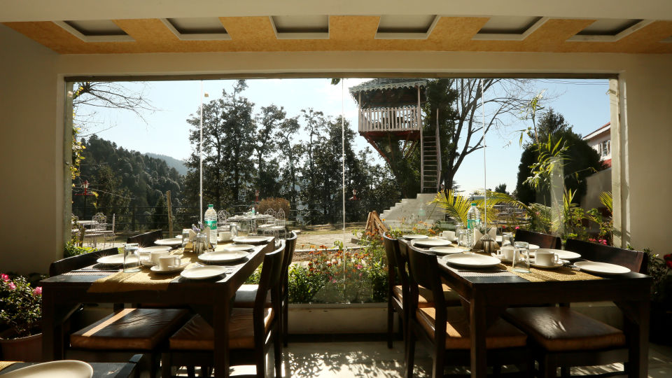 Alps Resort Restaurant View