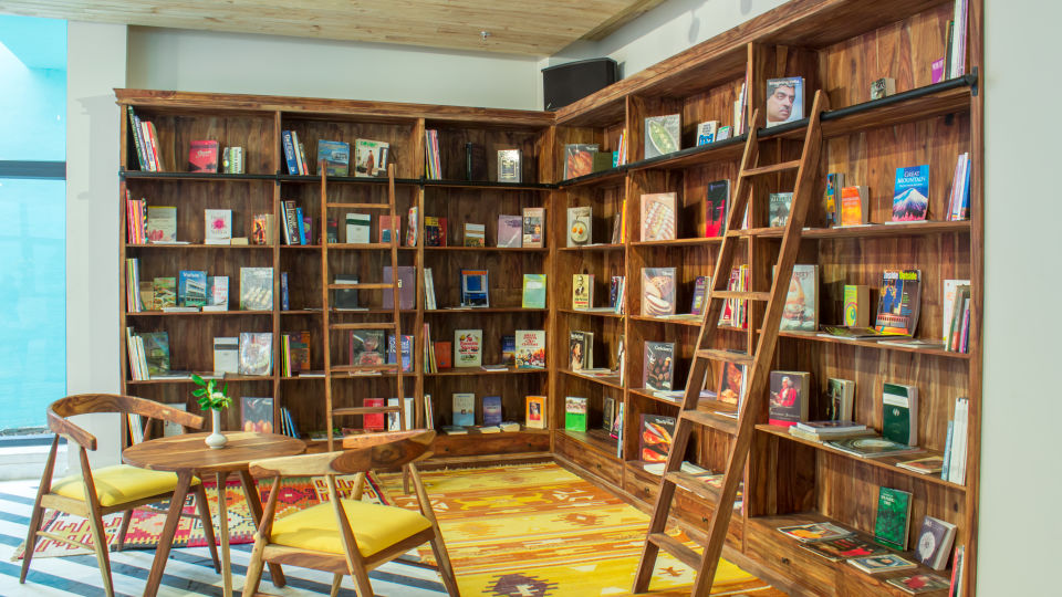Lobby Libraray-Jaipur
