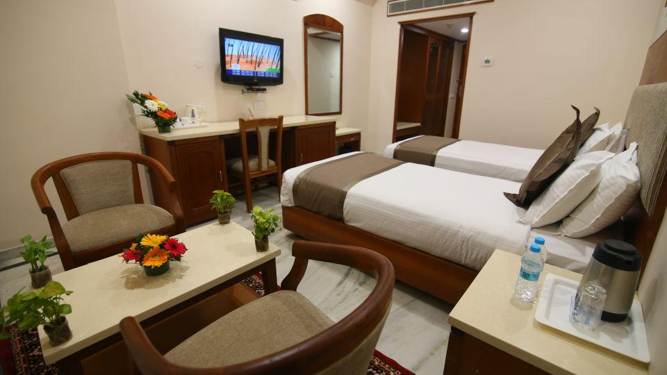 Bussiness Club Twin Beds at Hotel Daspalla Executive Court Vishakapatnam 3