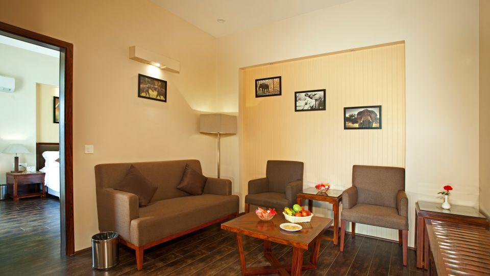 Premium Cottage Lounge Area