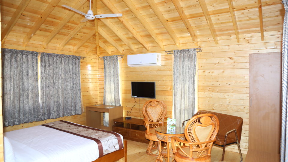 Wood House Room