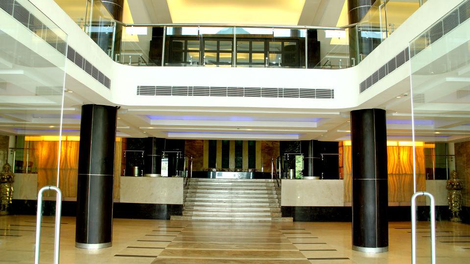 Entrance of gokulam park and convention centre kochi