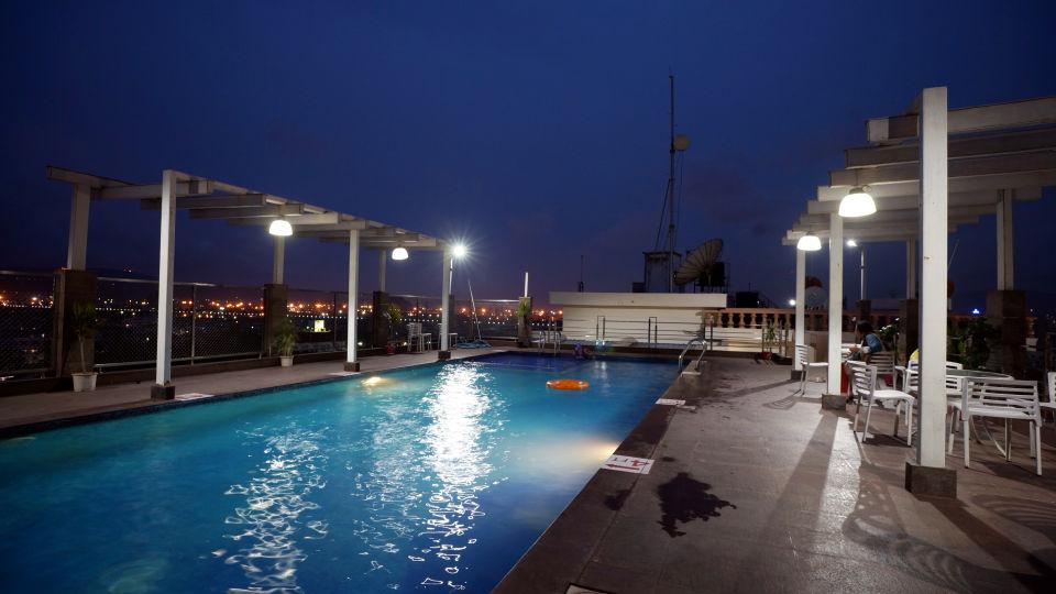 Swimming Pool at Hotel Daspalla Visakhapatnam 3