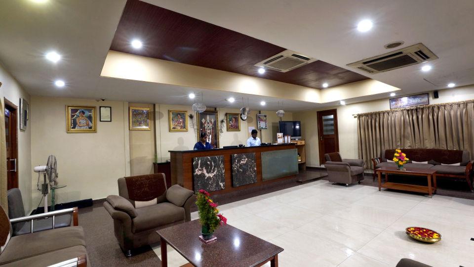Lobby at Hotel Geetha Regency in Guntur 1