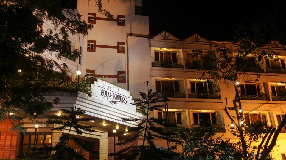 Facade of Hotel Polo Towers, Shillong, Resort in Shillong