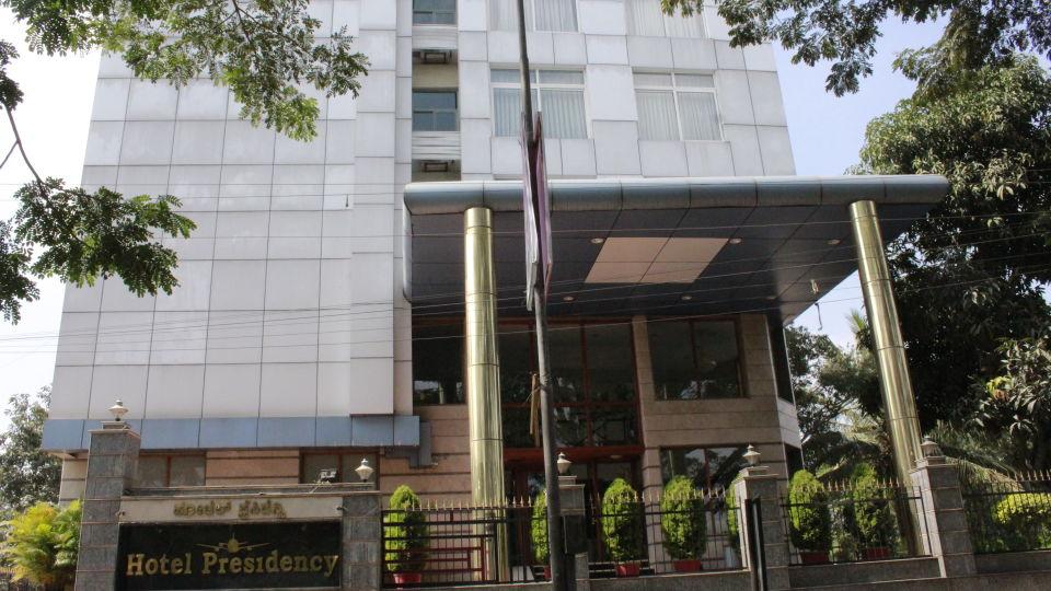 Facade - Hotel Presidency Bangalore