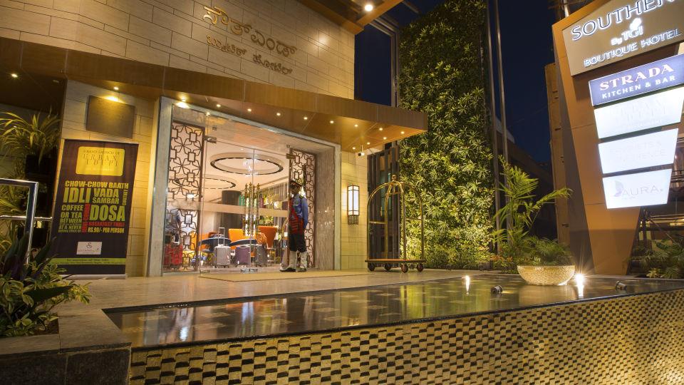Entrance at Hotel Southend By TGI - Bommasandra Bangalore1