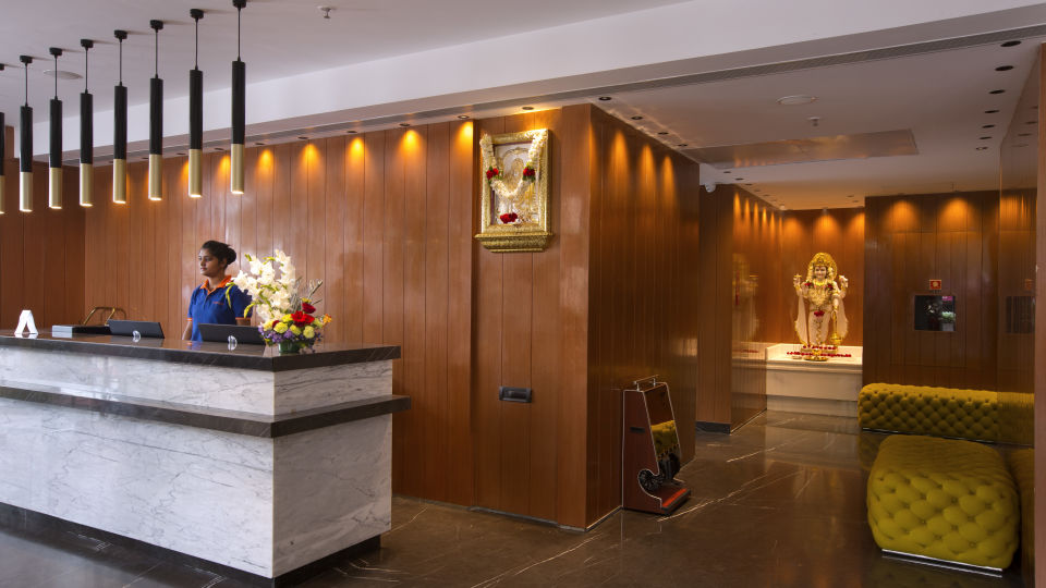 Reception at Hotel Southend By TGI - Bommasandra Bangalore3