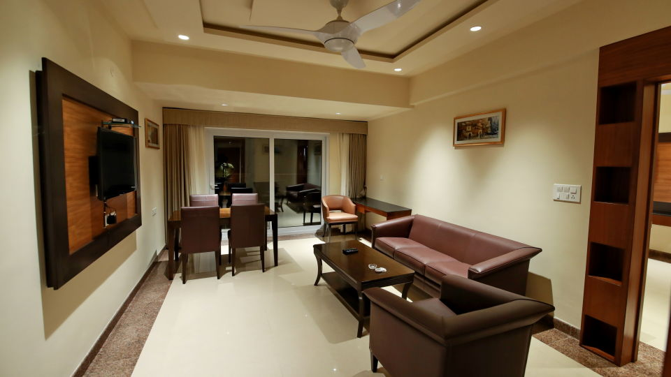 Suite Rooms at Hotel Southern Star Davangere
