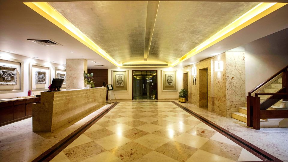Lobby at Hotel Southern Star Mysuru 2