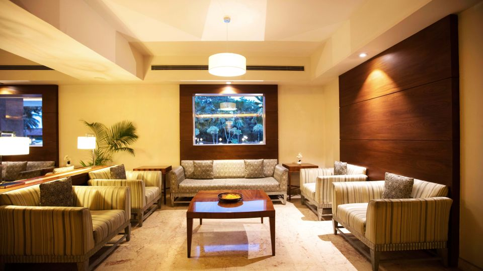Lobby at Hotel Southern Star Mysuru 4