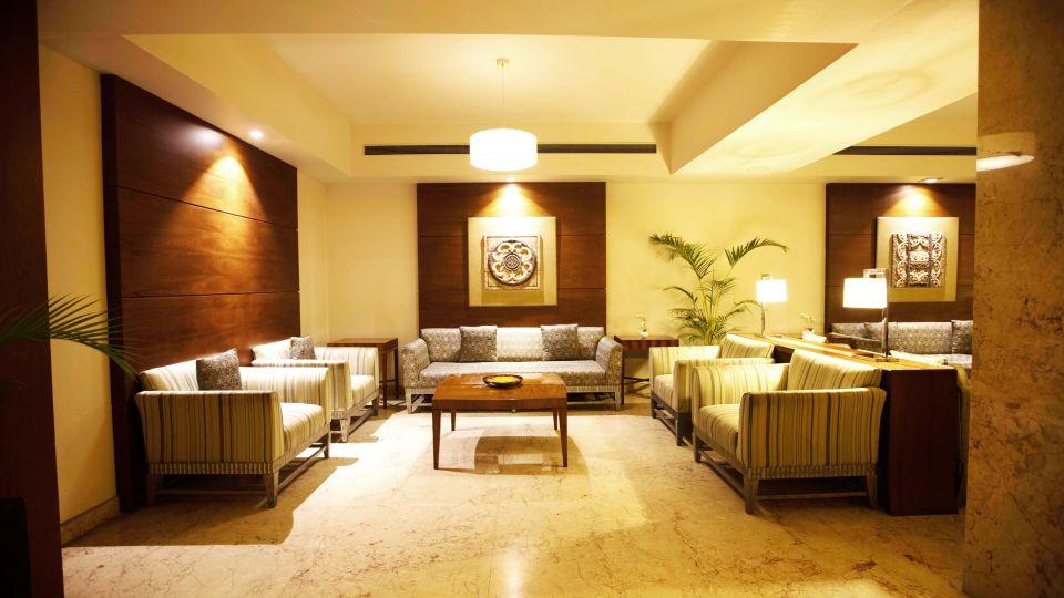 Lobby at Hotel Southern Star Mysuru 5