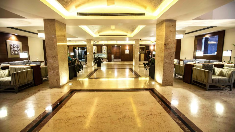 Lobby at Hotel Southern Star Mysuru 6