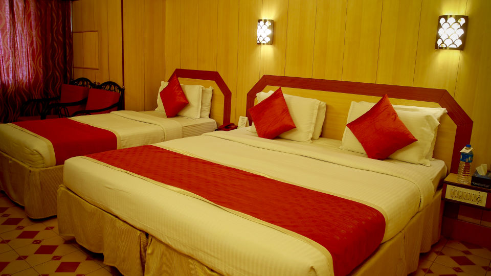 Hotel Rooms near Majestic, Hotel Swagath, Standard AC Rooms