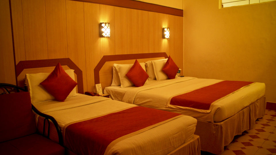 Hotel Rooms near Majestic, Hotel Swagath, Standard AC Rooms 6