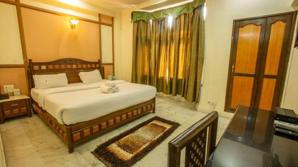 Double Bed Executive Suite at Hotel Vasundhara Palace Rishikesh 1