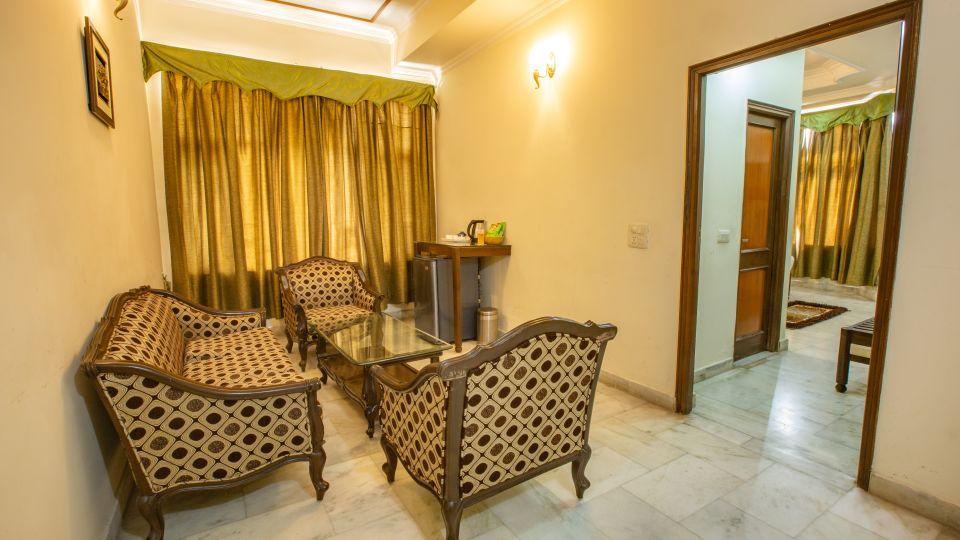 Double Bed Executive Suite at Hotel Vasundhara Palace Rishikesh 3