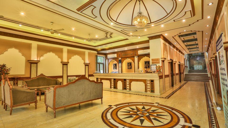 Reception at Hotel Vasundhara Palace Rishikesh 3