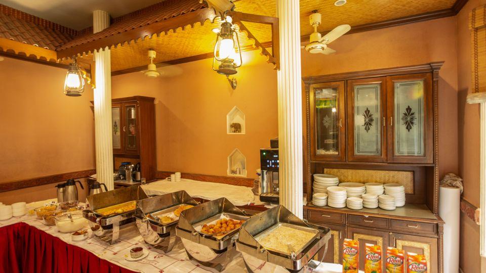 Restaurant at Hotel Vasundhara Palace Rishikesh 3