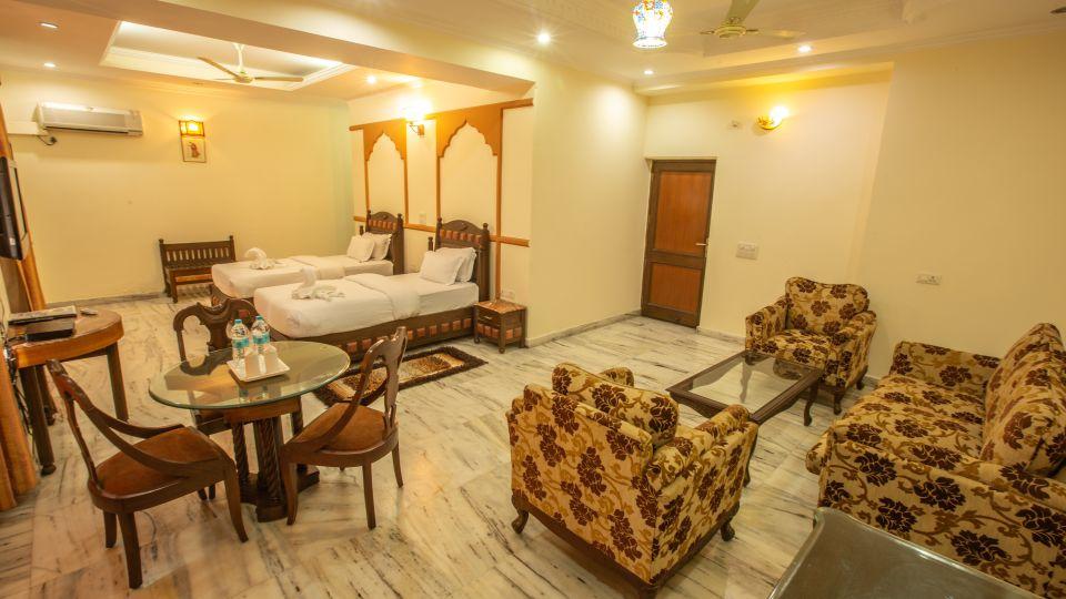 Twin Bed Executive Suite at Hotel Vasundhara Palace Rishikesh 1