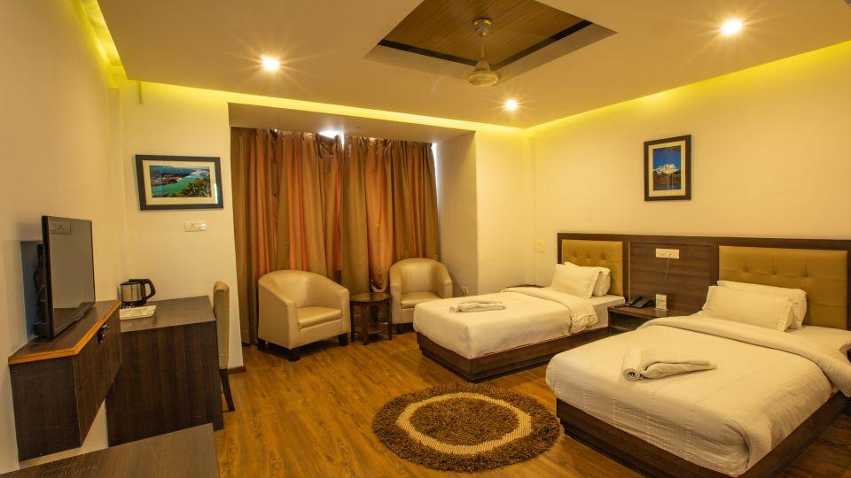 Twin Bed Executive Suite at Hotel Vasundhara Palace Rishikesh 8