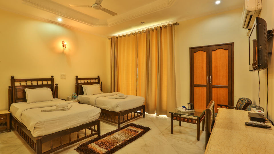 Twin Bed Executive Suite at Hotel Vasundhara Palace Rishikesh 9