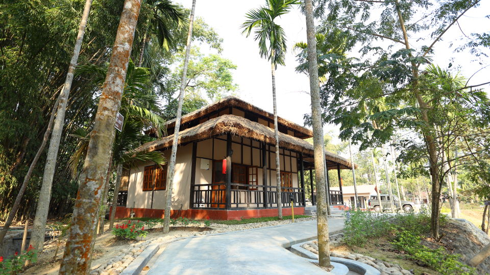 Exterior View of the Cottage at Infinity Resorts Kaziranga, Rooms in Kaziranga 2