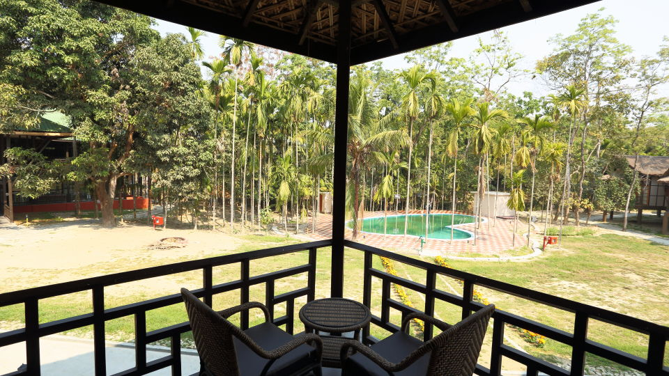 Pool Facing Rooms at Infinity Resorts Kaziranga 5