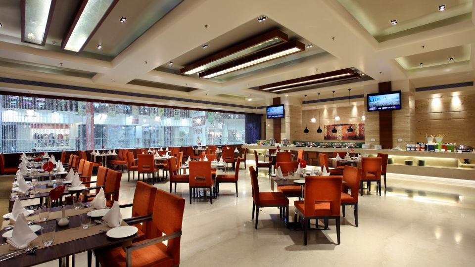 Tangerine at Mahagun Sarovar Portico Vaishali, best vaishali restaurants 3