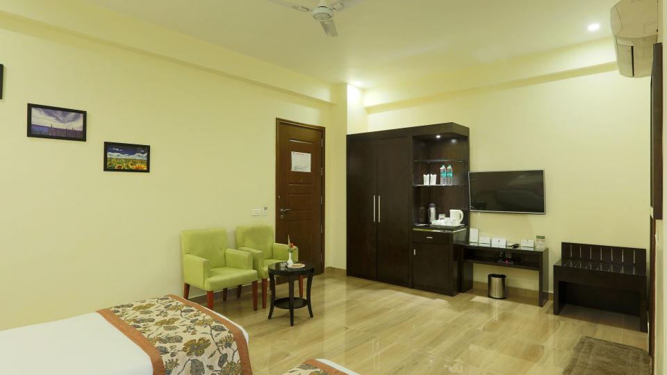 LUX ROOM TWIN BED Resort De Coracao Corbett